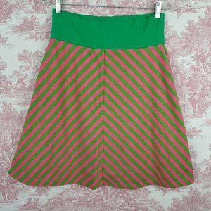 Downeast Basics Skirt A-line Size M Flare Chevron